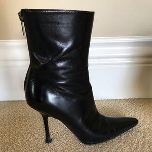 Jimmy Choo stiletto heel boot